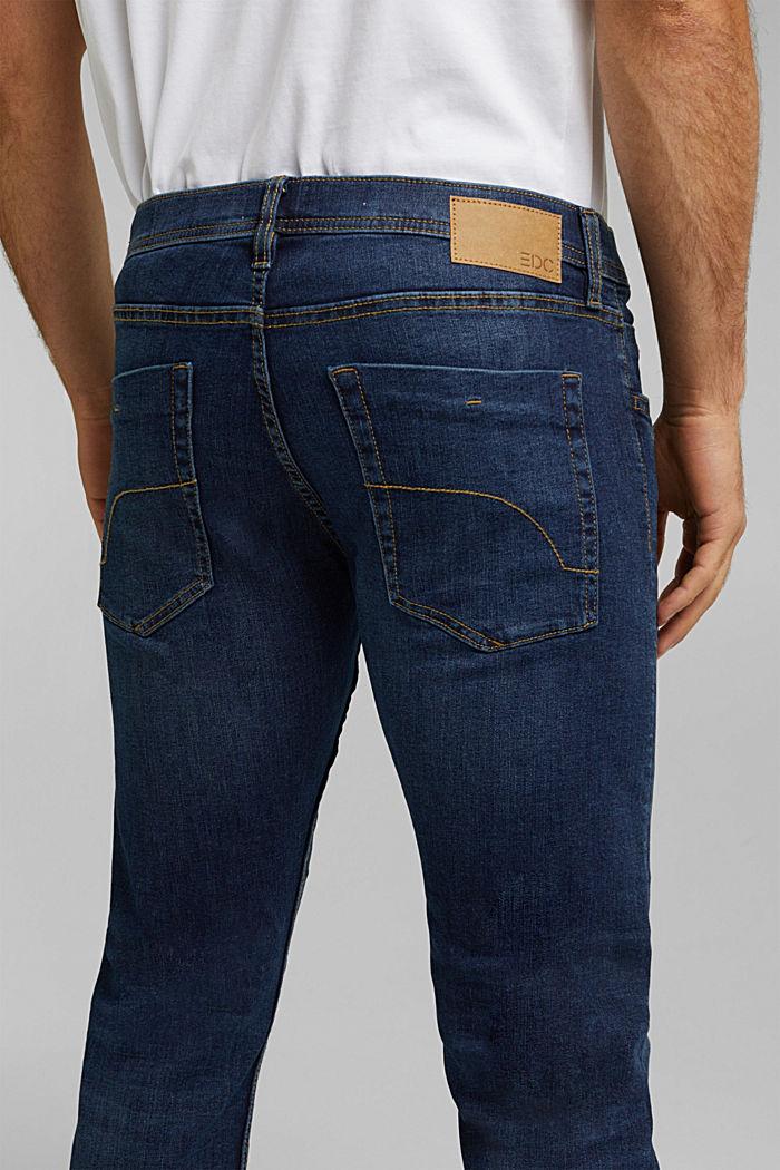Basic-Jeans mit Organic Cotton, BLUE DARK WASHED, detail image number 3