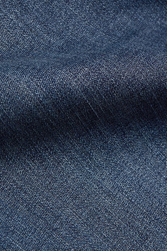 Basic-Jeans mit Organic Cotton, BLUE DARK WASHED, detail image number 4