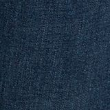 Basic jeans met biologisch katoen, BLUE DARK WASHED, swatch