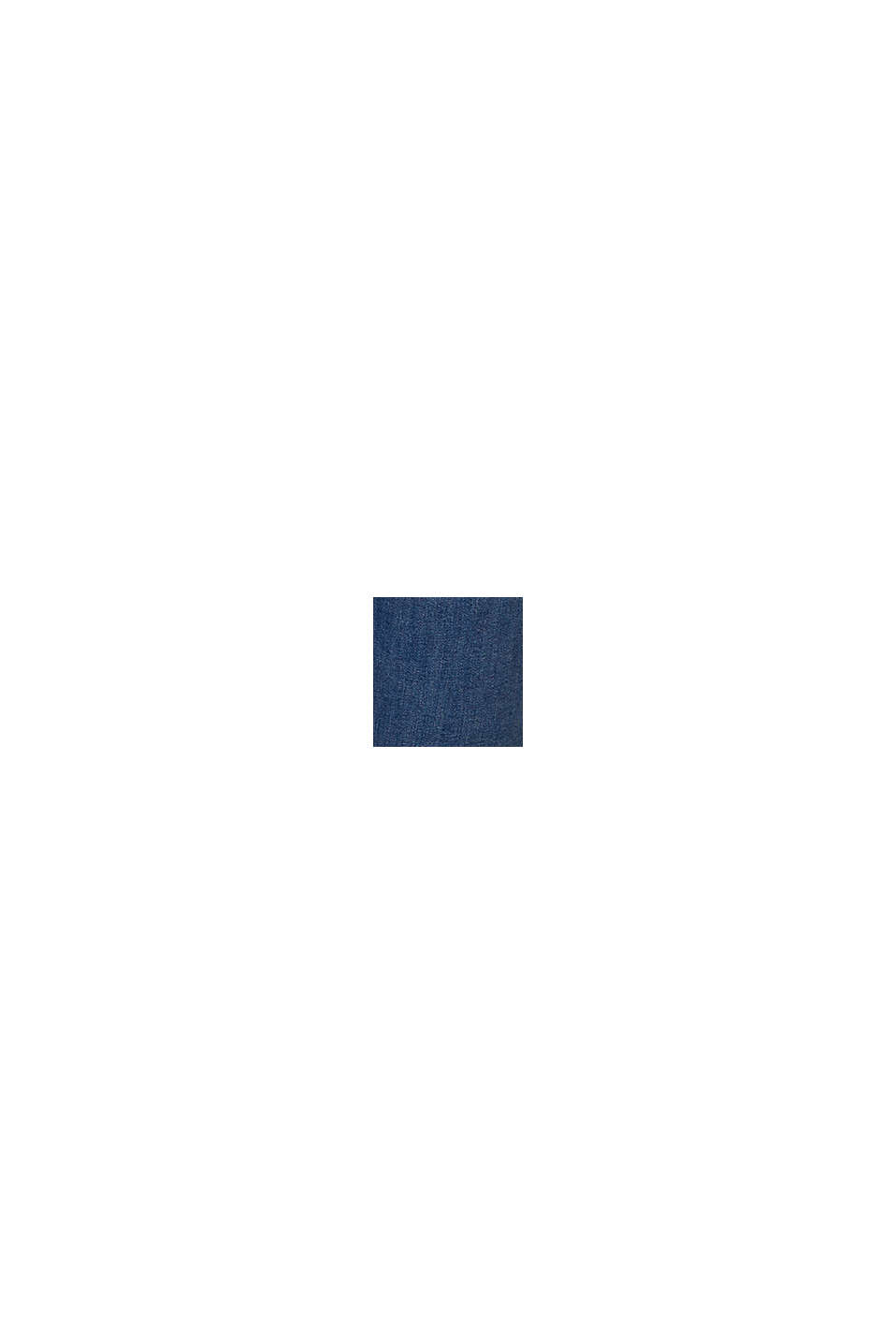 Basic jeans met biologisch katoen, BLUE MEDIUM WASHED, swatch