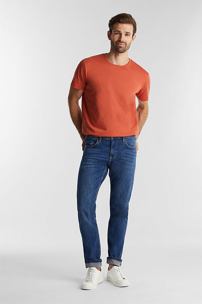 Stretch-Jeans mit Organic Cotton, BLUE MEDIUM WASHED, detail image number 2