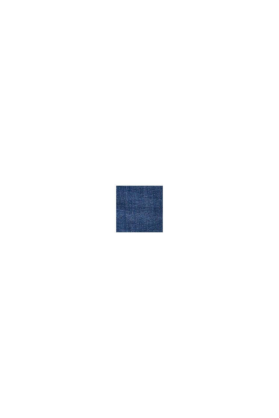 Stretchjeans met biologisch katoen, BLUE MEDIUM WASHED, swatch