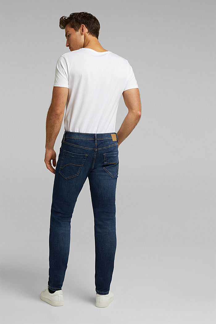 Stretch-Jeans mit Organic Cotton, BLUE DARK WASHED, detail image number 1