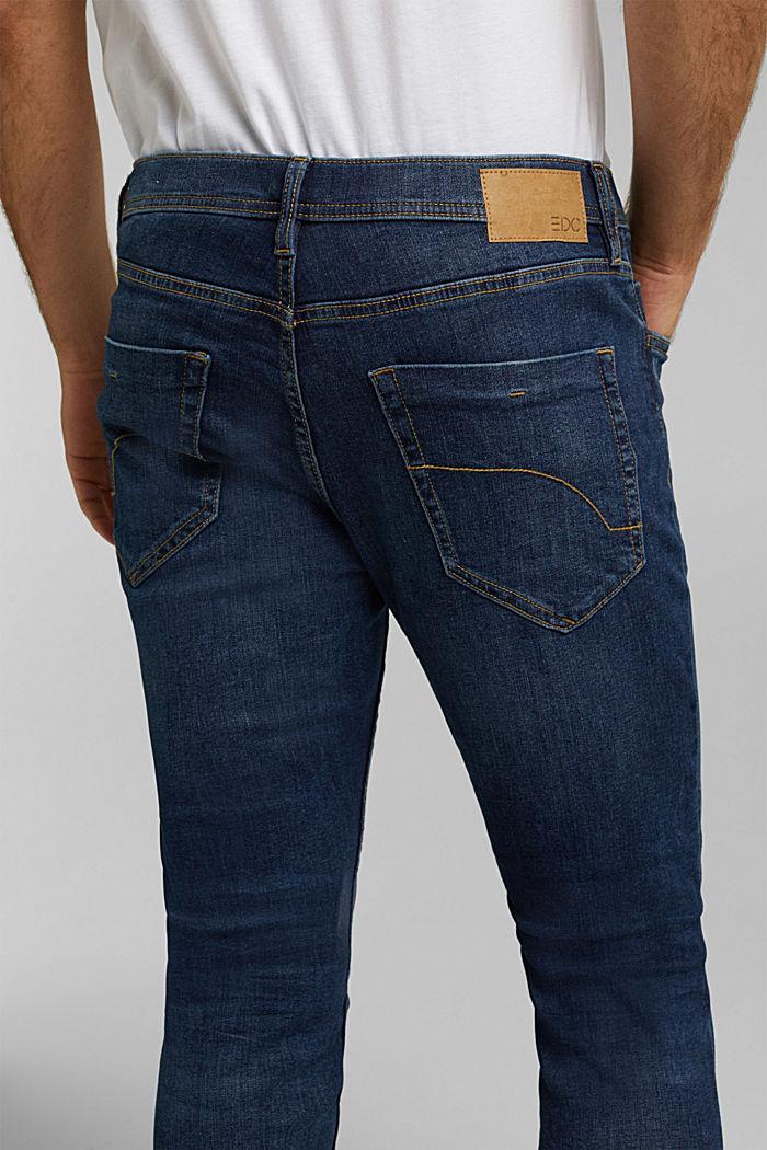 Stretch-Jeans mit Organic Cotton, BLUE DARK WASHED, detail image number 3