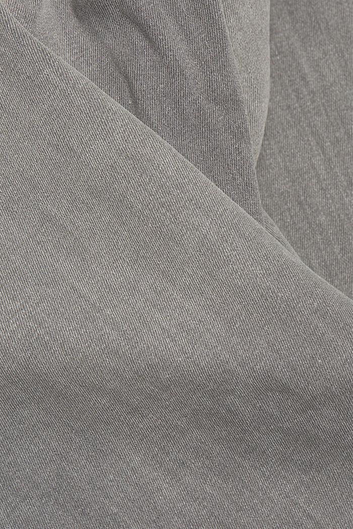 Stretch-Jeans mit Organic Cotton, GREY MEDIUM WASHED, detail image number 5