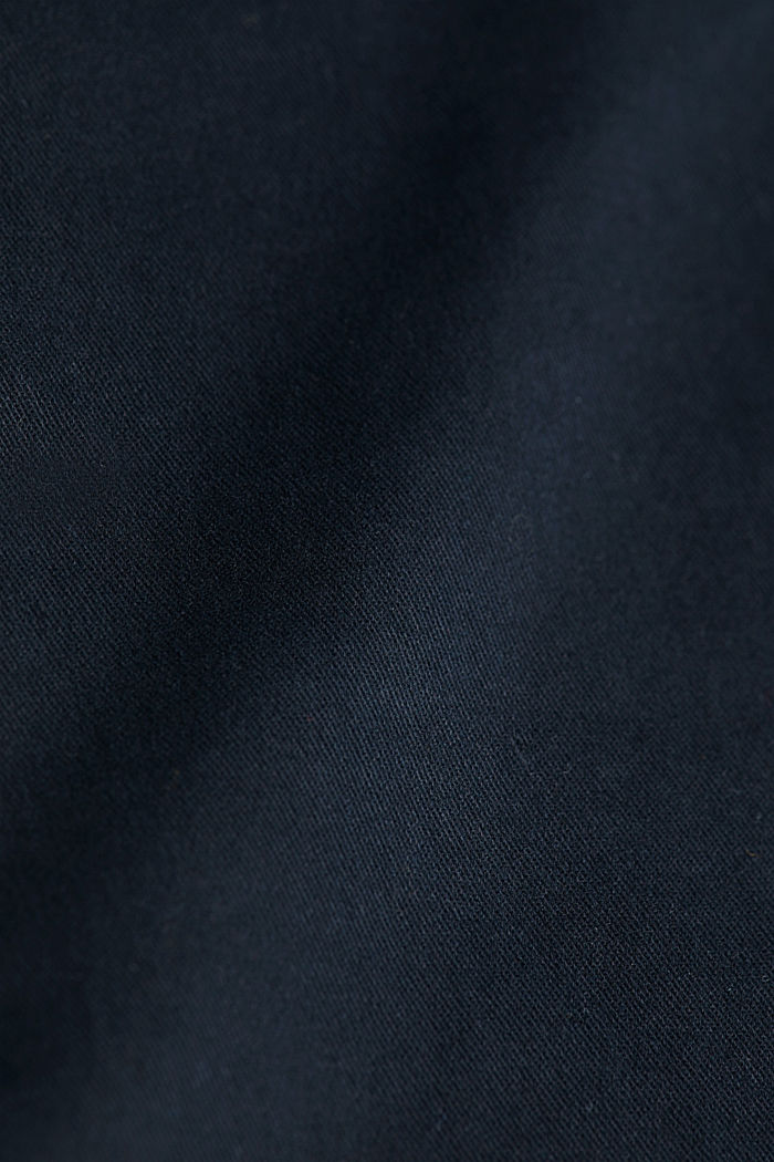 Stretch cotton chinos, BLACK, detail image number 4