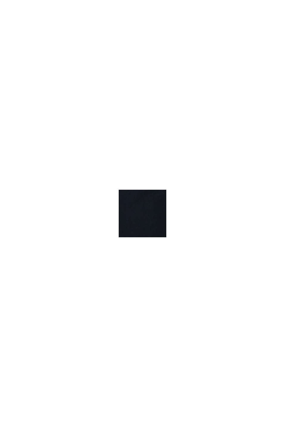 Kalhoty chino z bavlněného streče, BLACK, swatch