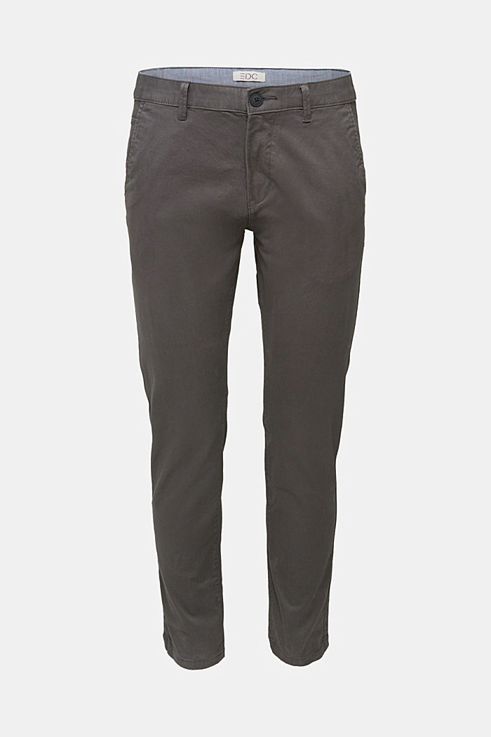 Pantalon chino en coton stretch