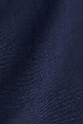Stretch cotton chinos, NAVY, detail