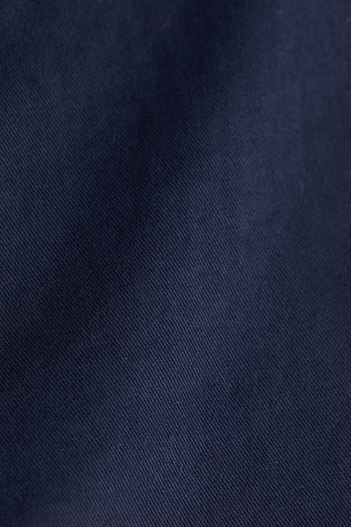 Stretch cotton chinos, NAVY, detail image number 4