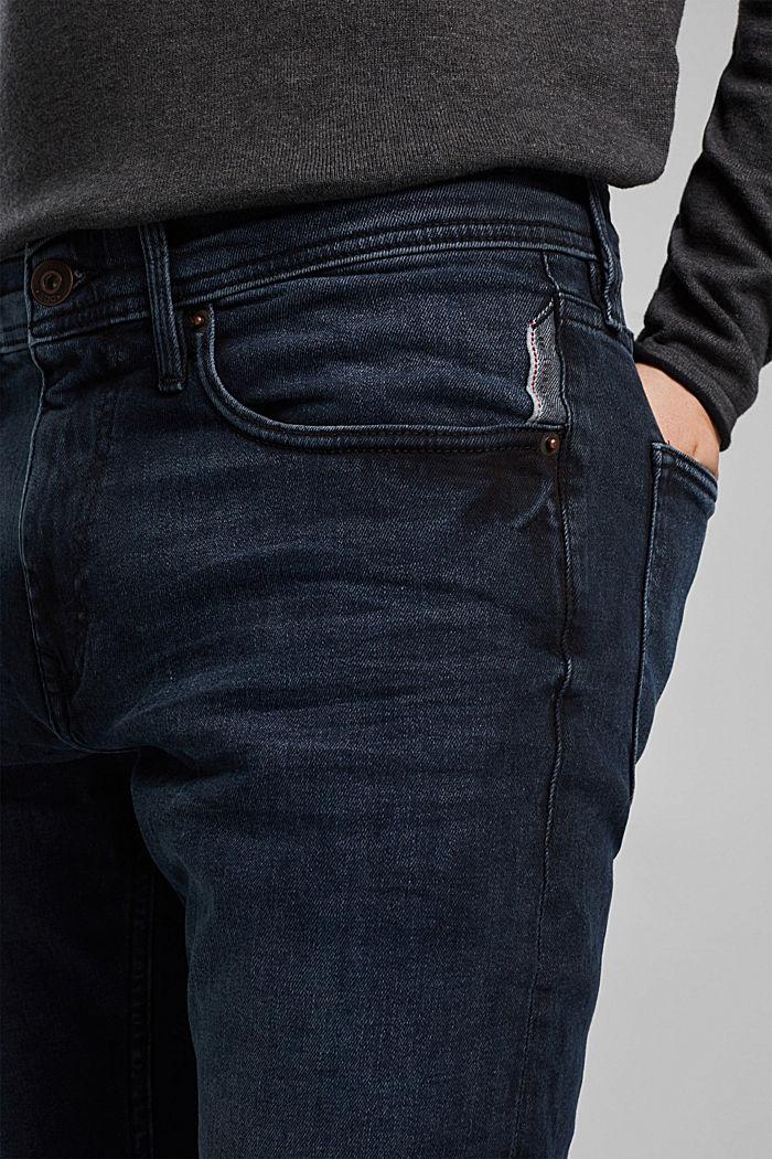 Organic cotton jeans, BLUE BLACK, detail image number 3