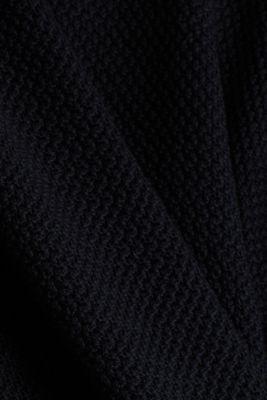 Jumper made of 100% organic cotton, BLACK, detail