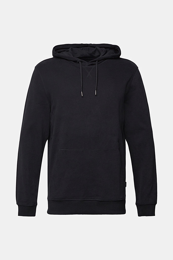 Sweat-Hoodie aus 100% Baumwolle, BLACK, detail image number 6