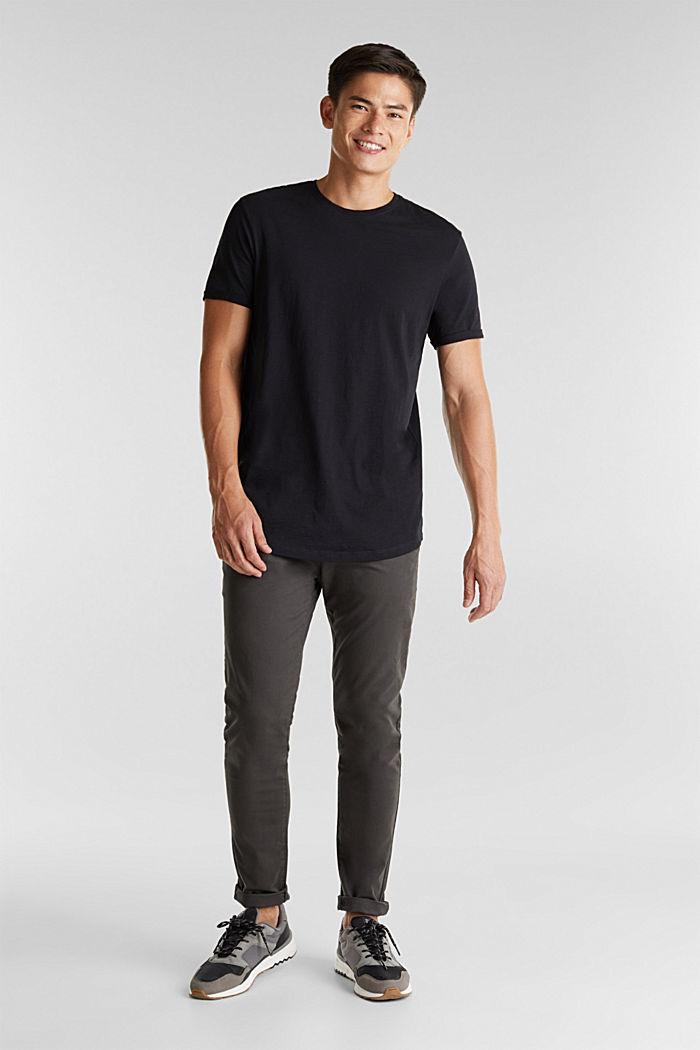 Jersey-Shirt aus 100% Organic Cotton, BLACK, detail image number 2