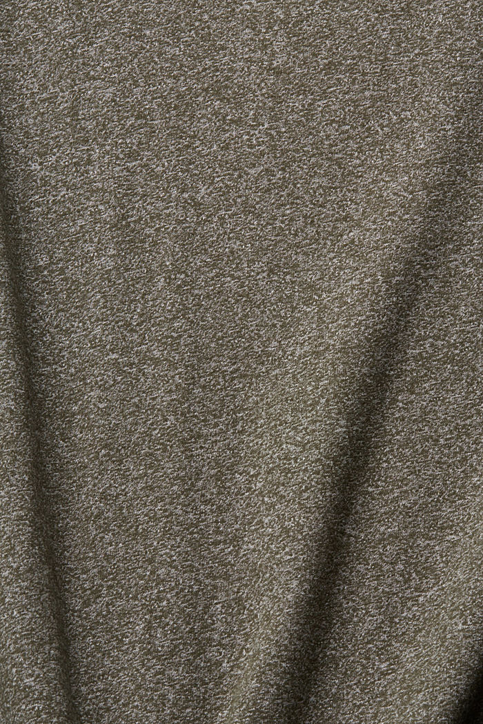 Recycelt: T-Shirt mit Organic Cotton, OLIVE, detail image number 4