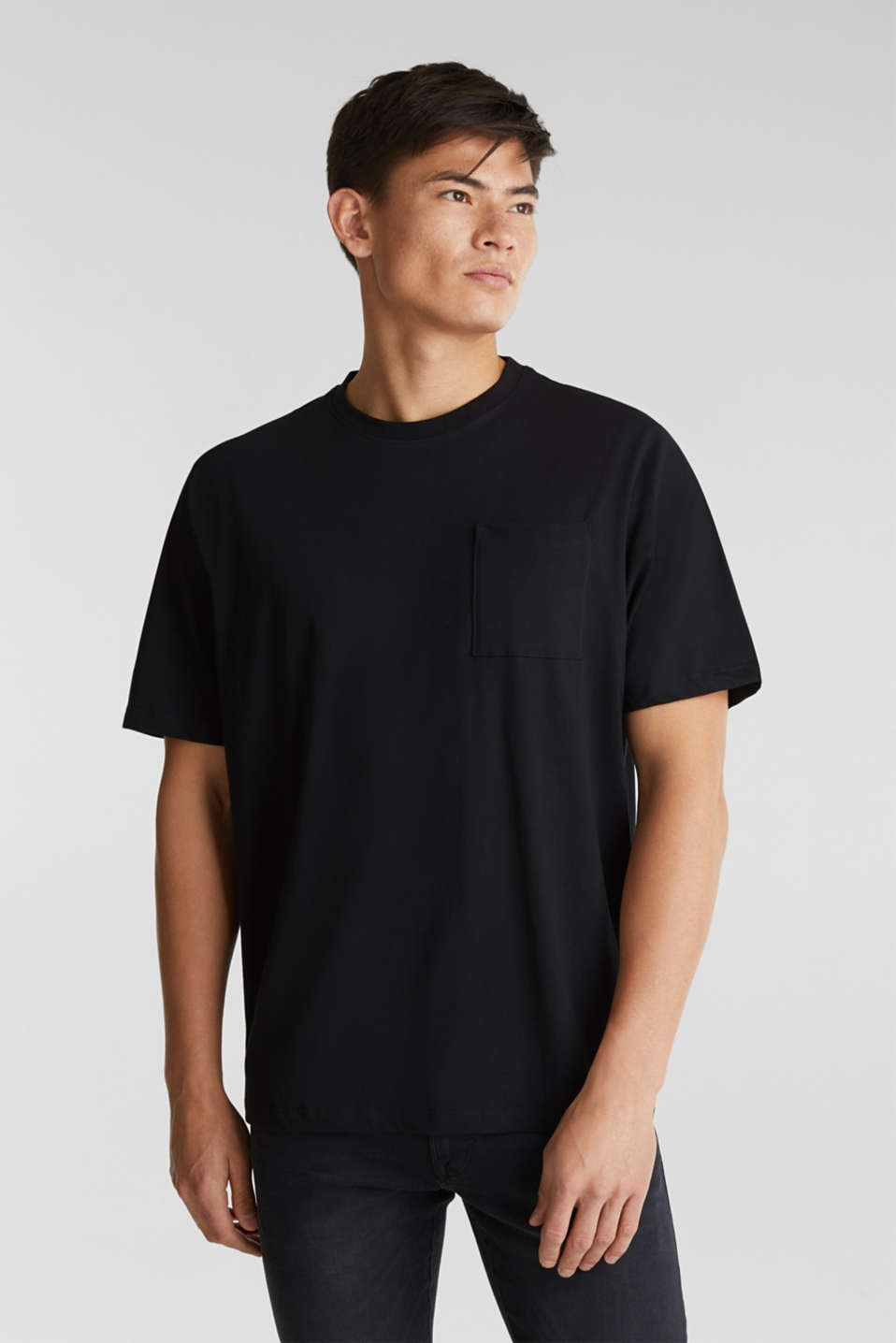 edc - Jersey T-shirt made of 100% organic cotton