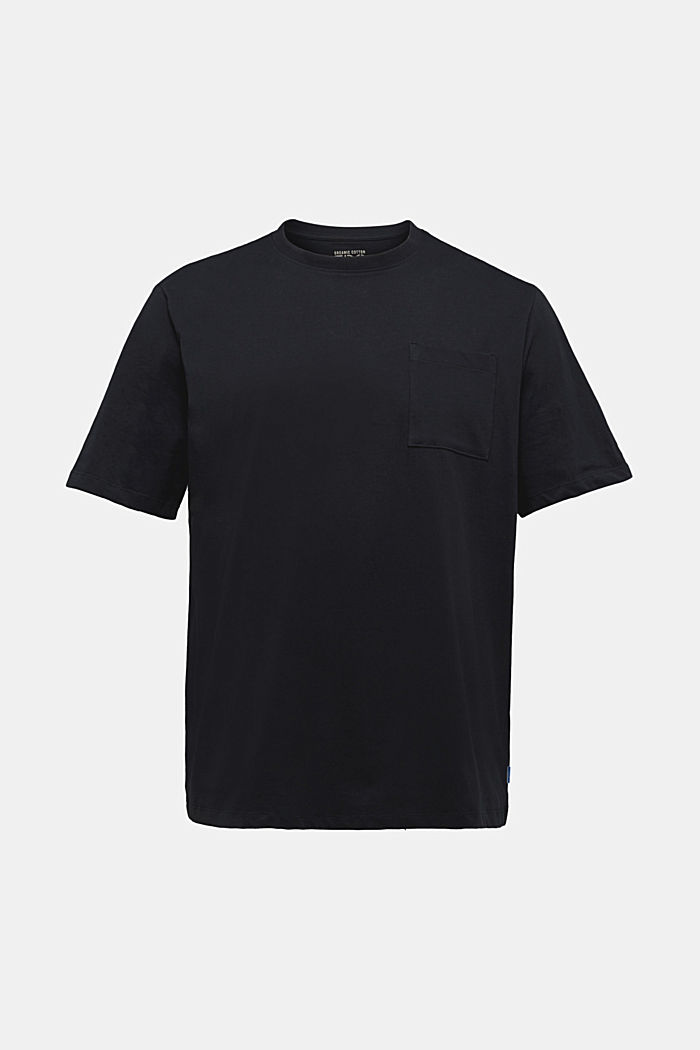 Jersey T-shirt made of 100% organic cotton, BLACK, detail image number 5