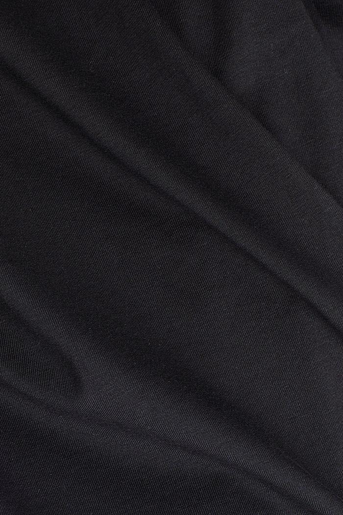 Longsleeve aus 100% Organic Cotton, BLACK, detail image number 4