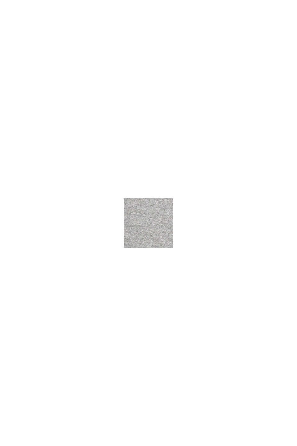 Jersey-T-Shirt, Bio-Baumwolle/LENZING™ ECOVERO™, MEDIUM GREY, swatch
