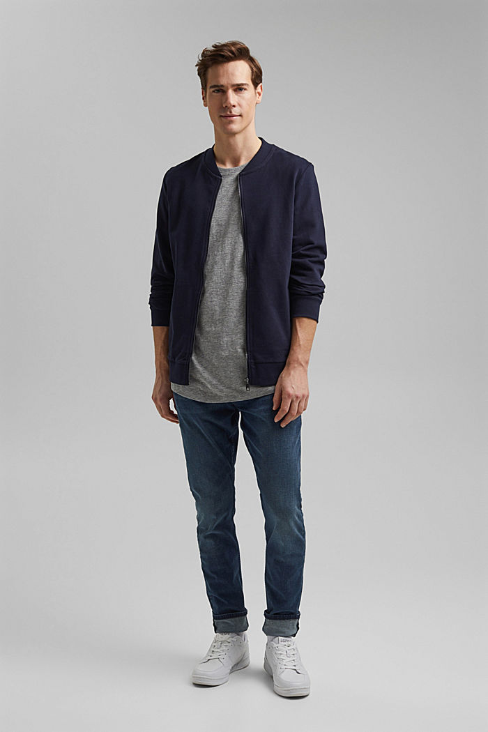 Jersey T-shirt, organic cotton/LENZING™ ECOVERO™, MEDIUM GREY, detail image number 2
