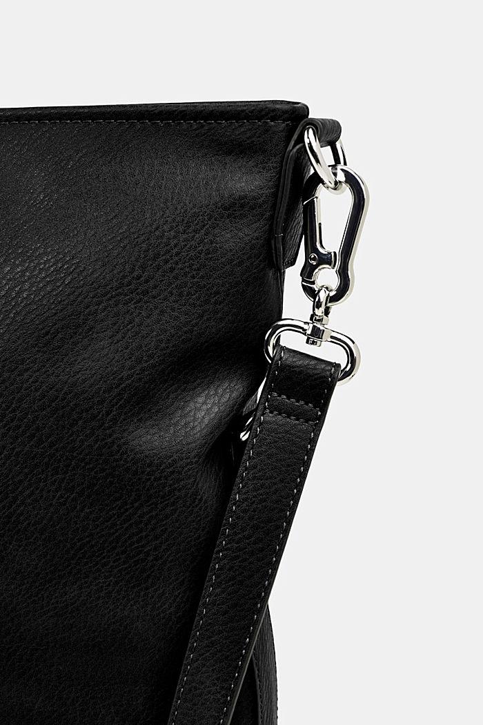 Övervikbar väska i skinnlook