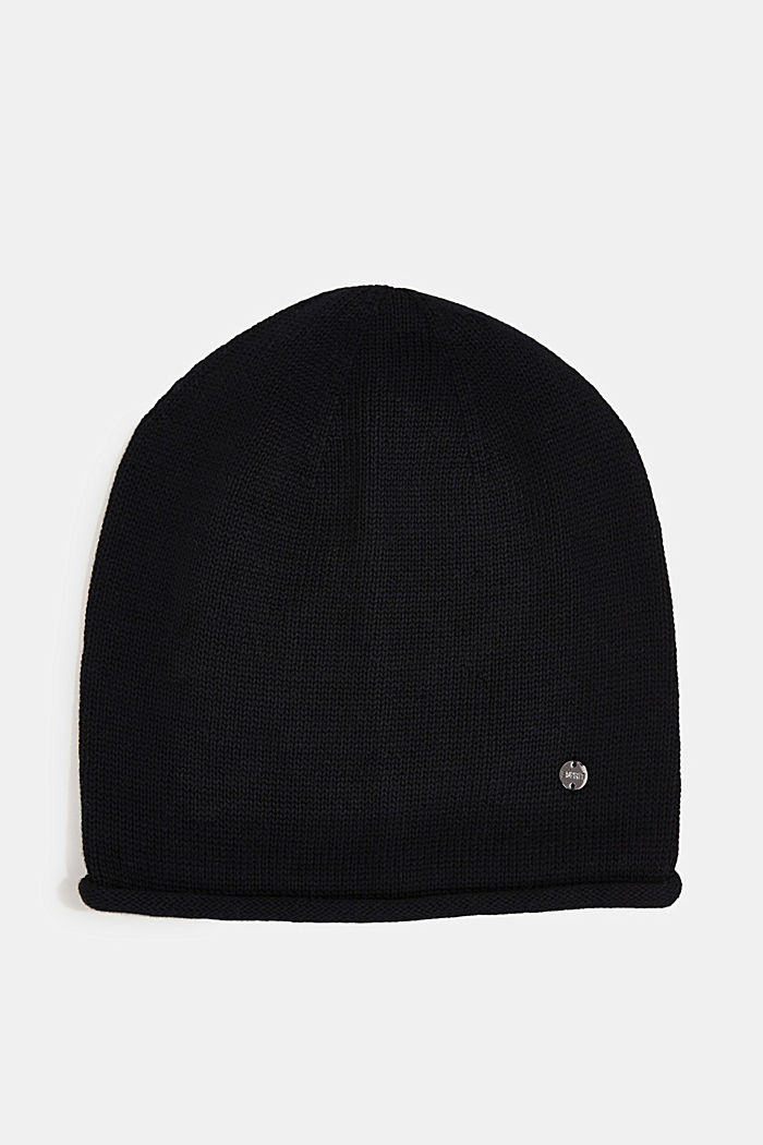 Beanie made of 100% organic cotton