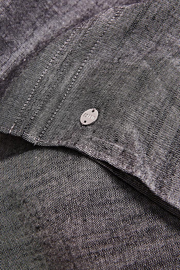 Colsjaal van 100% katoen, BLACK, detail image number 1