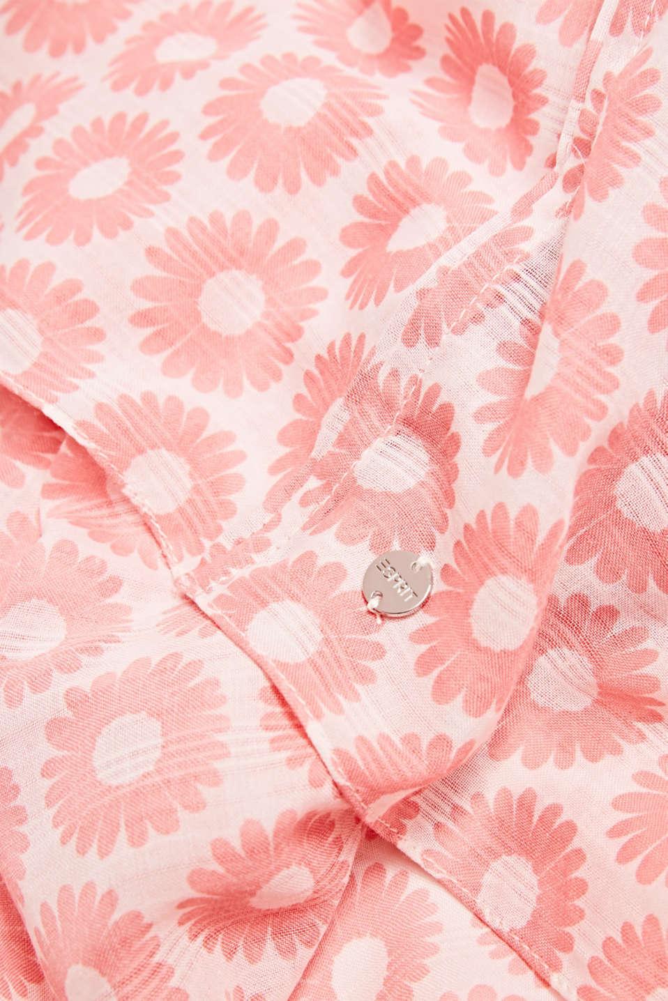 Snood with floral print, LIGHT PINK, detail image number 2