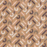 Monogram scarf made of 100% cotton, LIGHT TAUPE, swatch