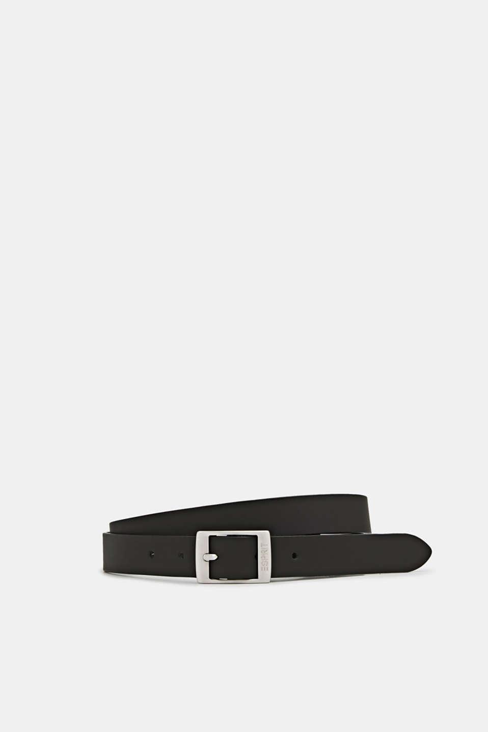 Esprit I læder: fint bælte i basic look i Esprits Online Shop