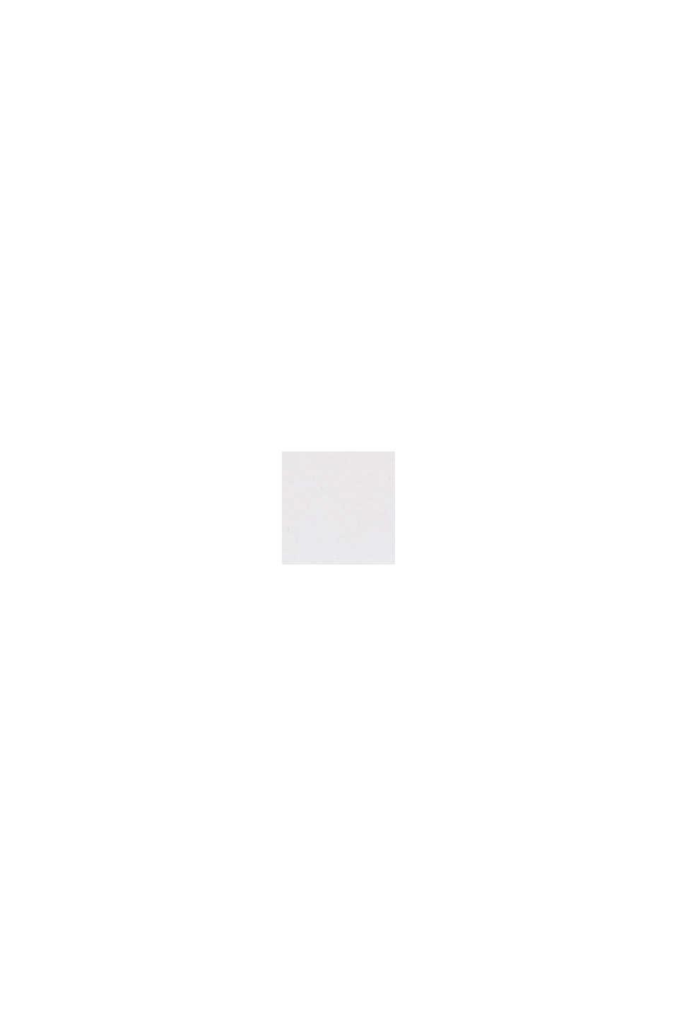 En cuir: la fine ceinture au look basique, WHITE, swatch