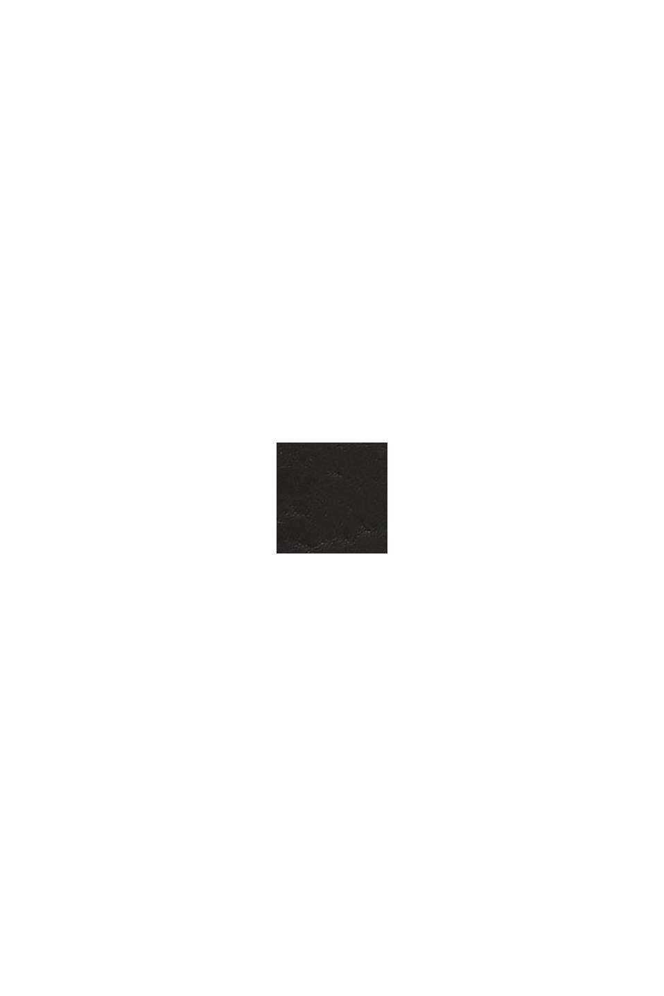 En cuir: la ceinture à boucle en métal, BLACK, swatch