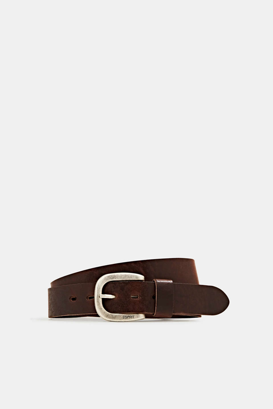 Esprit - Leather belt with a metal buckle