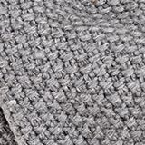Snood scarf made of recycled yarn, GREY, swatch