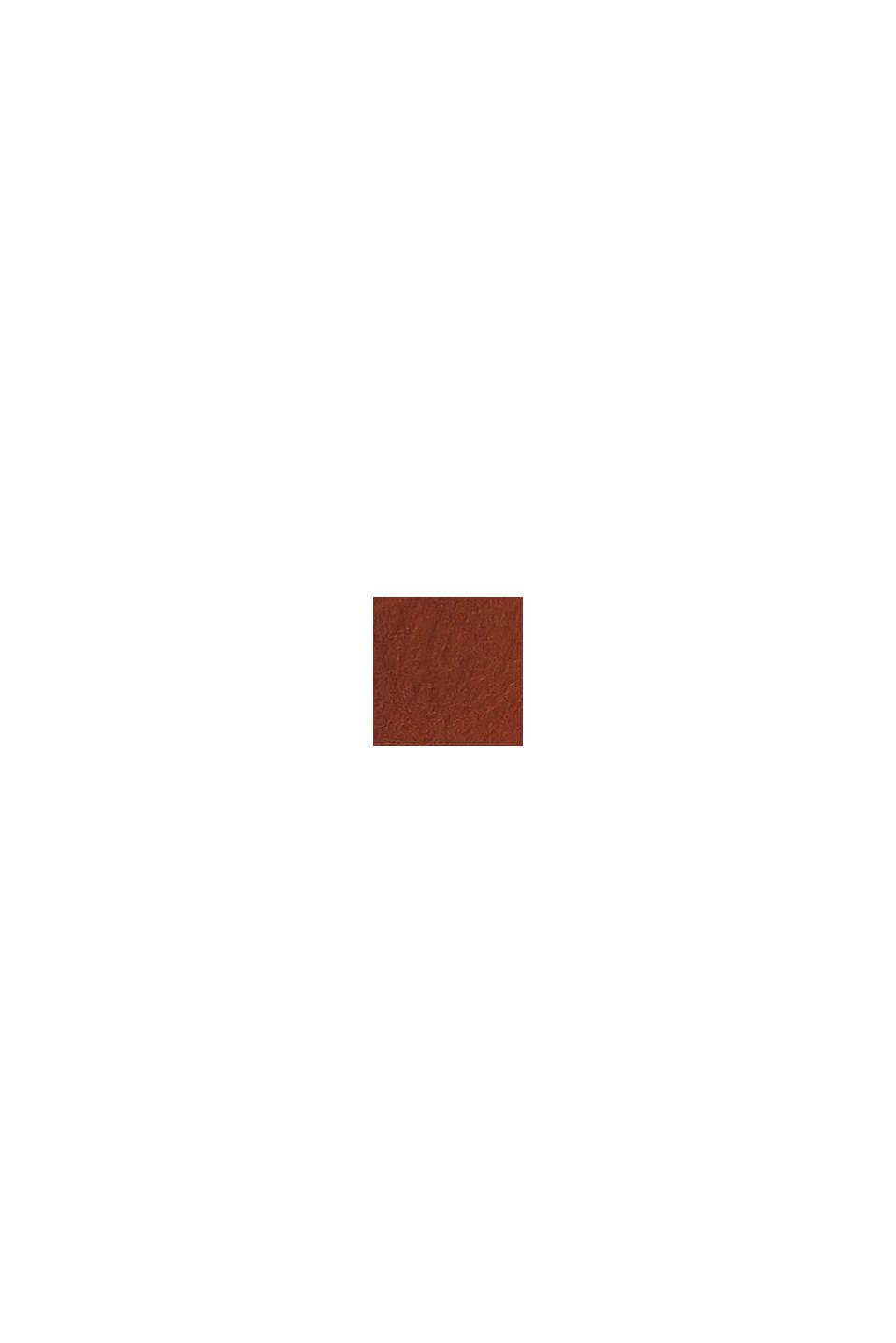 Ceinture en cuir à boucle mat, CAMEL, swatch