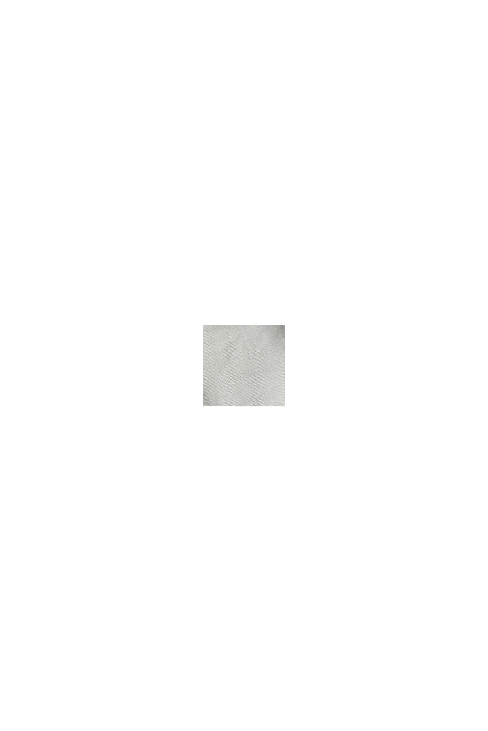 Stretch-chinobukser med fletbælte, LIGHT GREY, swatch