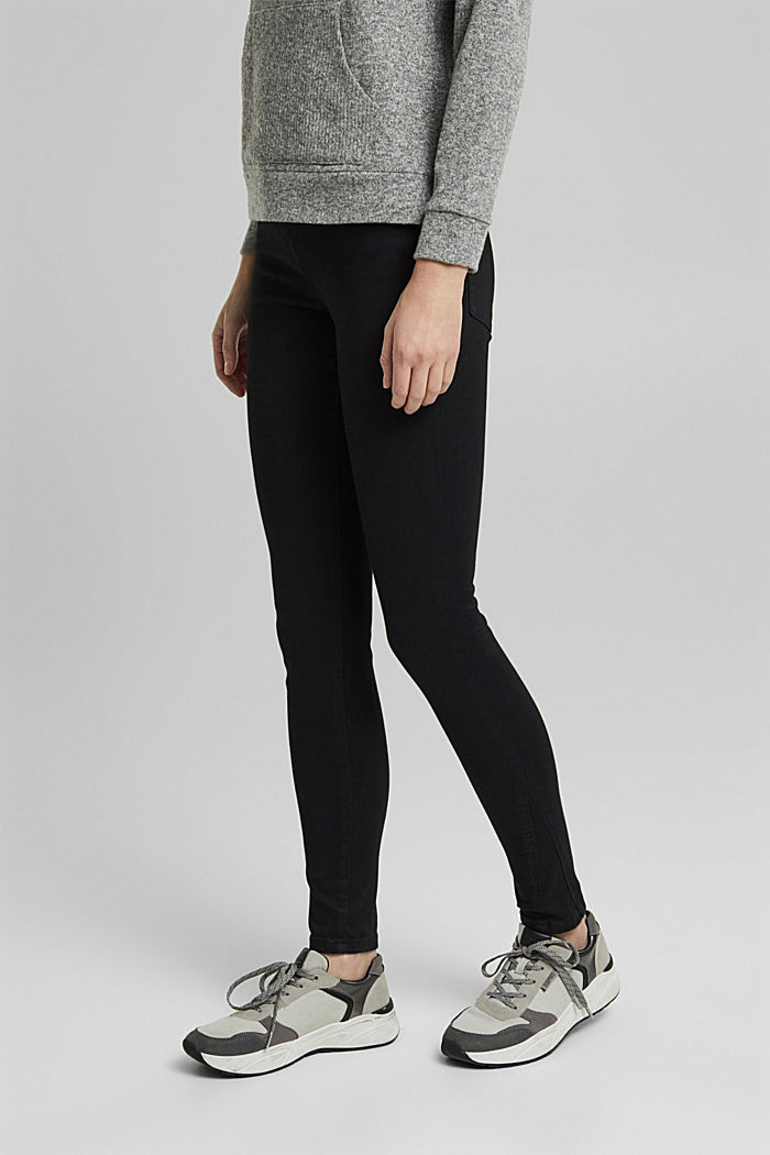 Trousers with shaping function, BLACK, detail image number 0