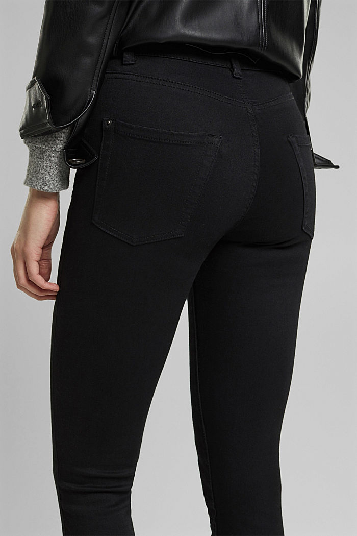 Trousers with shaping function, BLACK, detail image number 2