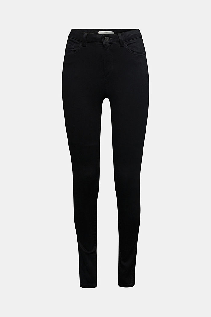 Trousers with shaping function, BLACK, detail image number 4