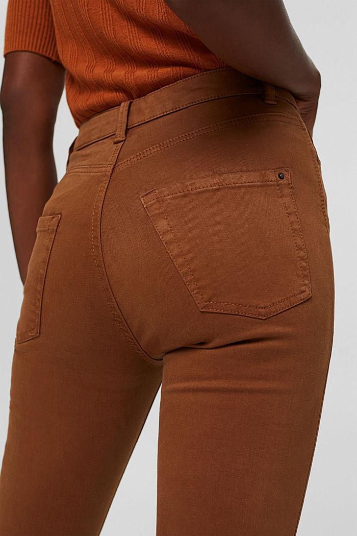Pantalon doux à taille haute, à teneur en stretch, TOFFEE, detail image number 2