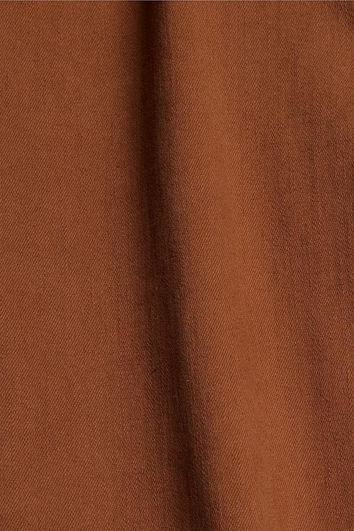 Pantalon doux à taille haute, à teneur en stretch, TOFFEE, detail image number 4