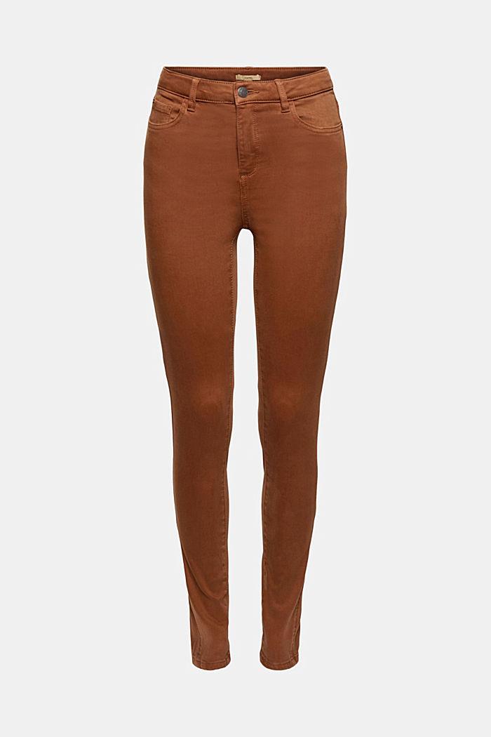 Bløde, højtaljede bukser med stretch