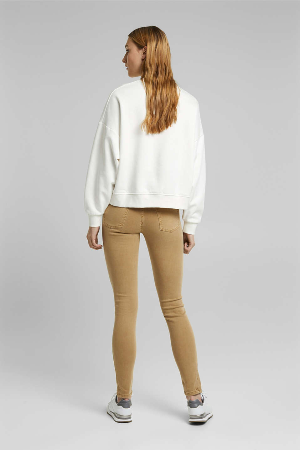 Trousers with shaping function, CAMEL, detail image number 2