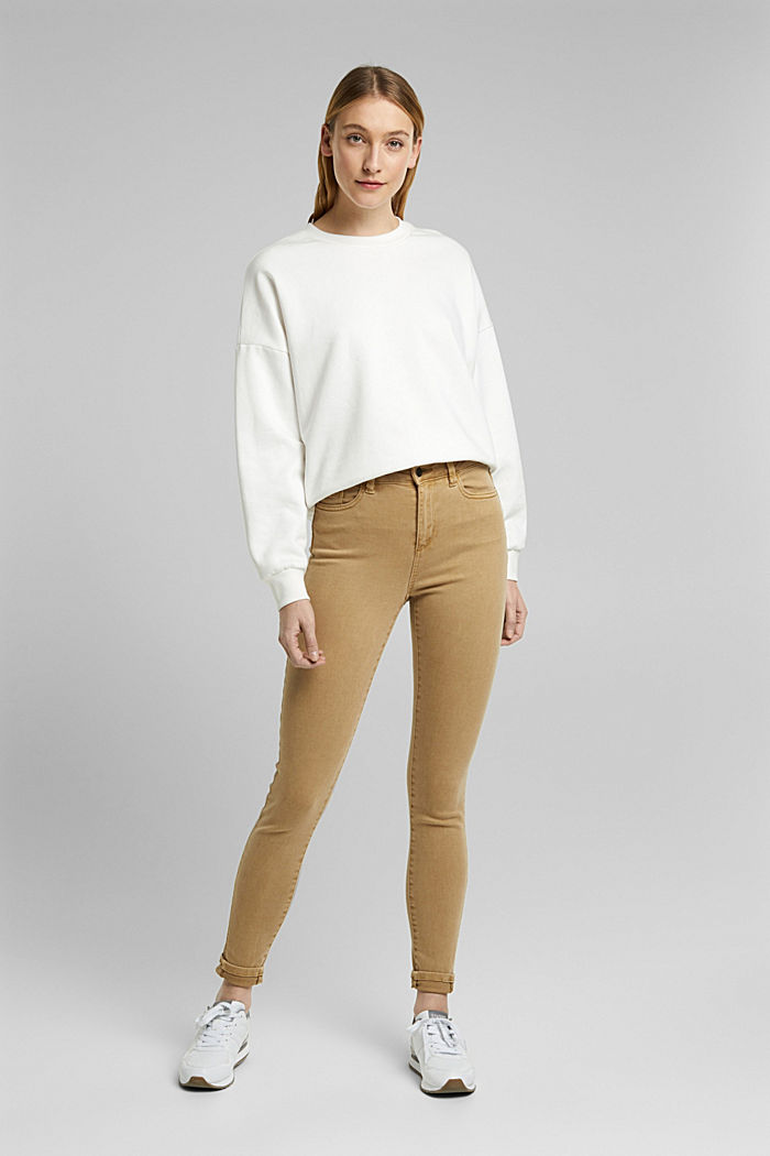 Trousers with shaping function, CAMEL, detail image number 1