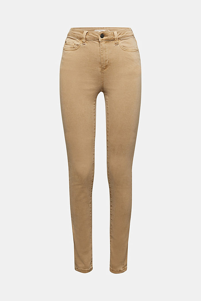 Trousers with shaping function, CAMEL, detail image number 3