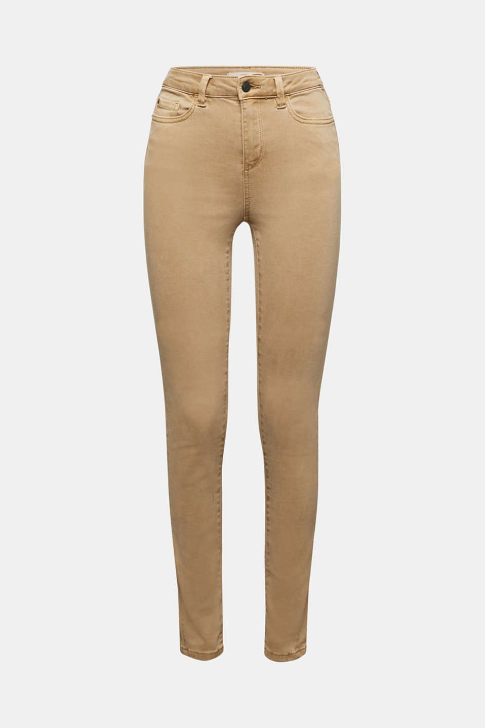 Trousers with shaping function, CAMEL, detail image number 5