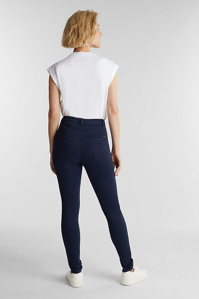 Trousers with shaping function, NAVY, detail image number 2