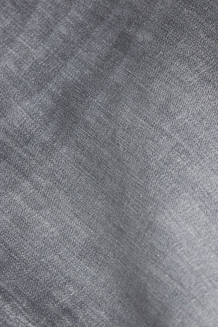Vaqueros moldeadores con cintura alta, GREY MEDIUM WASHED, detail image number 4