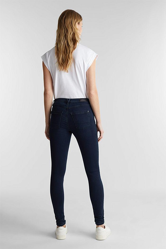 Skinny Jeans in Jogger-Qualität, BLUE RINSE, detail image number 3