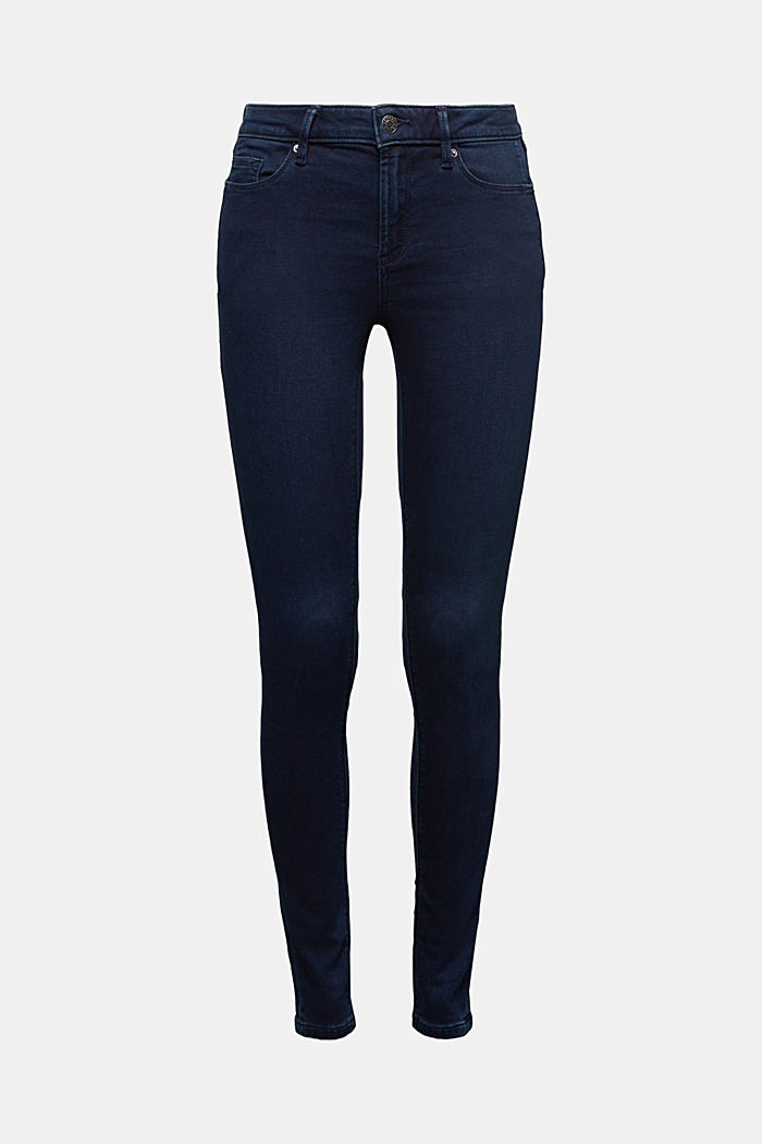 Skinny jeans made of tracksuit fabric